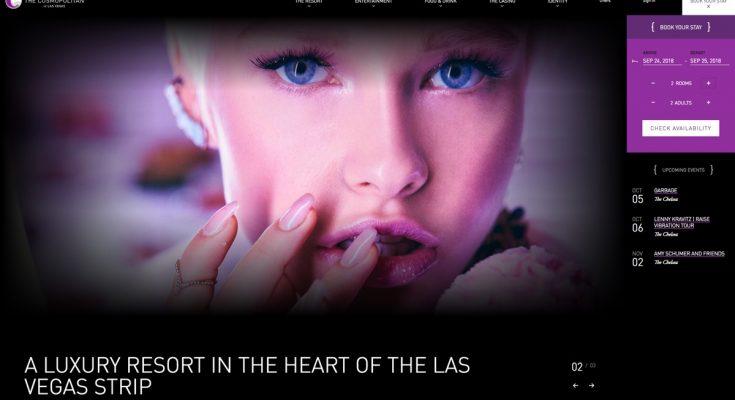 The Cosmopolitan Las Vegas website