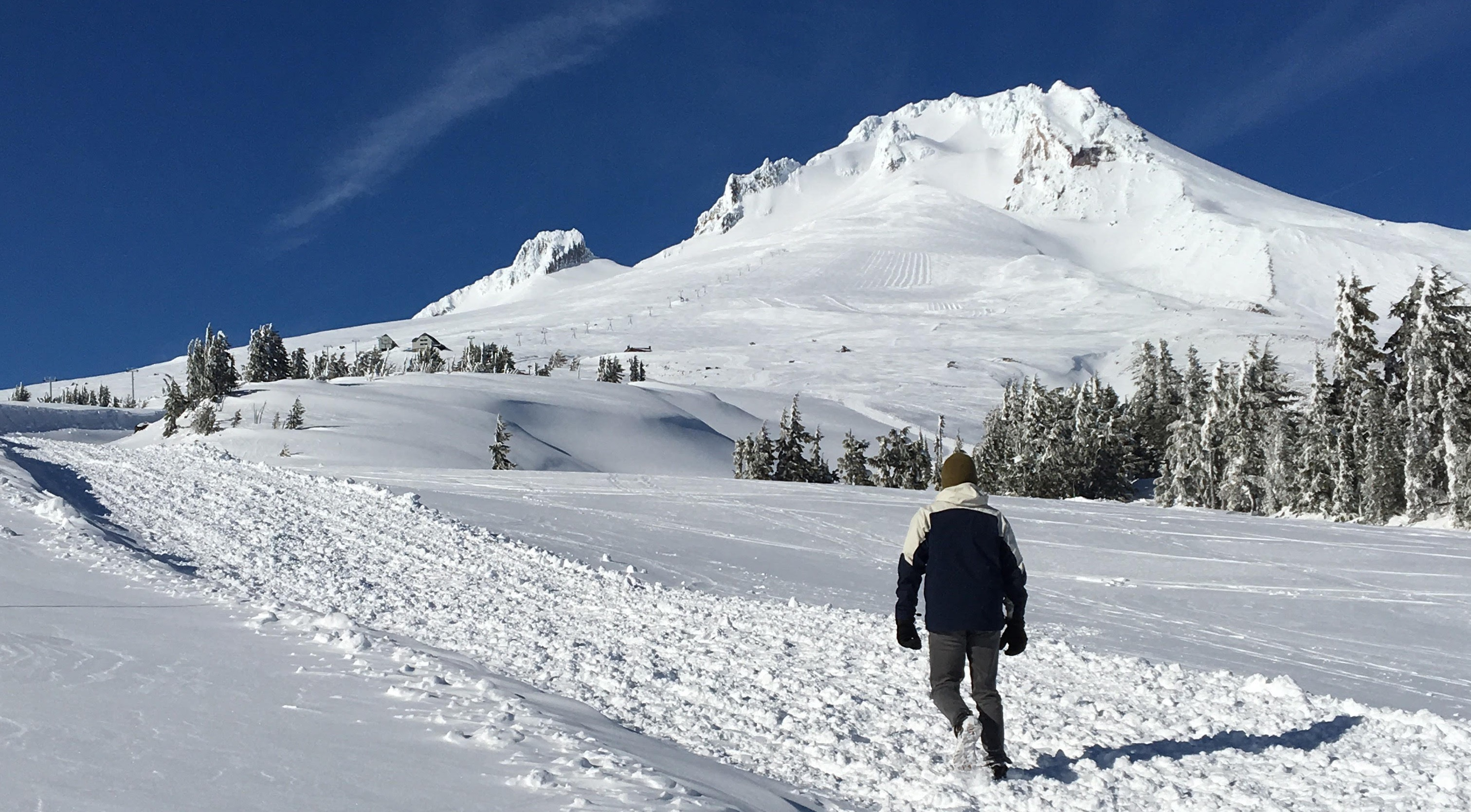 Ian Frost at Mt. Hood